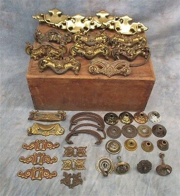 Lot Assorted Vintage Decorative Drawer Pulls Cupboard Handles Knobs Furniture d
