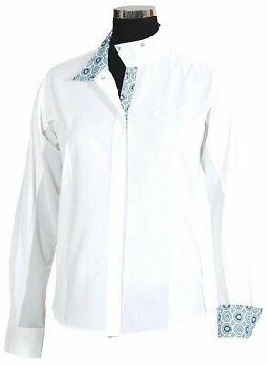Equine Couture Kelsey Children's Long Sleeve Show Shirt with Coolmax Fabric