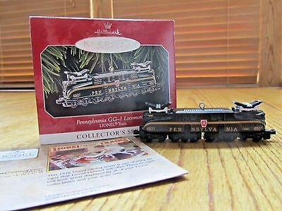 Lionel Train Hallmark Christmas Ornament Pennsylvania Gg-1 Locomotive-1998