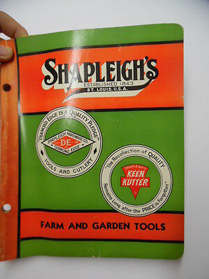 1952 Shapleigh Hardware Co Keen Kutter Farm and Garden Tool Catalog Vintage BIG