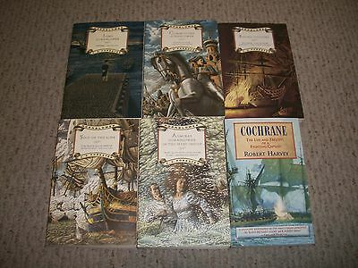 Lot Of 5 C. S. Forester Hornblower Nautical Trade Size Paperbacks & 1 Other