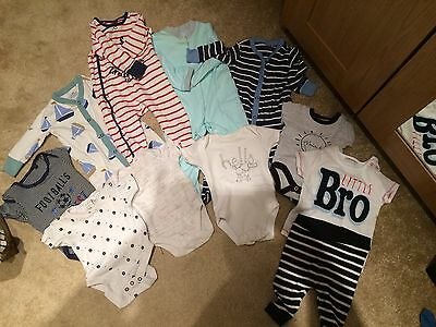 A Bundle Of BabyGrows From Next Size 3-6 Months