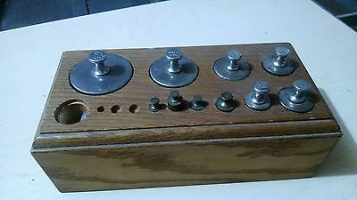 Antique Vintage Apothecary Pharmacy Balance Scale Weight Set