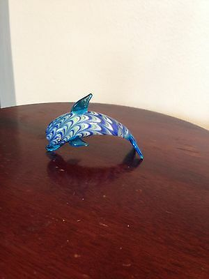 Fitz and Floyd Glass Menagerie Dolphin Figurine