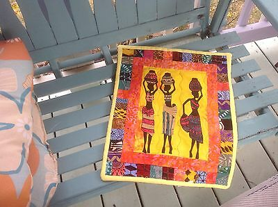 African American wall hanging