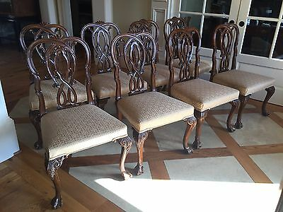 A Set Of 8 Karges Dining Side Chairs