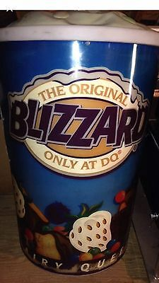 VINTAGE Dairy Queen Blizzard Directional Sign