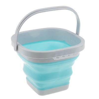 Portable Silicone Wash Pen Bucket Painting Brush Tools Holder Fishing Bucket