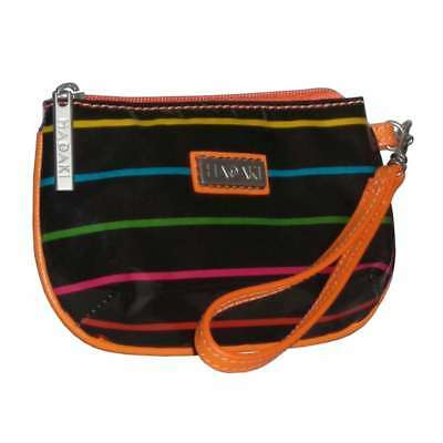 Hadaki Coated ID Wristlet Pencil Stripes Tropical - 821PENCILST