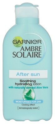 Garnier Ambre Solaire Aftersun Skin Soother 200ml Aloe Vera Cooling Efect
