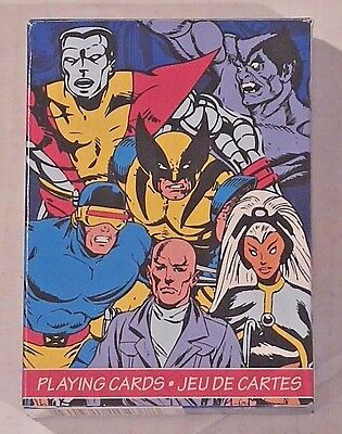 Marvel Retro X-Men Playing Cards Free Shipping + Free Zwaag!!!