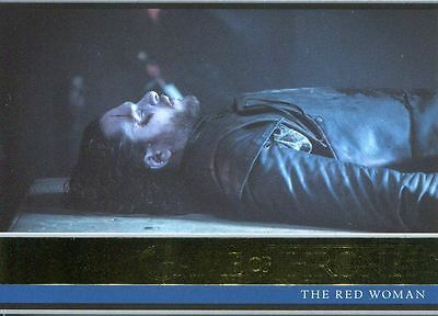 Game Of Thrones Season 6 Gold Base Card #1 The Red Woman