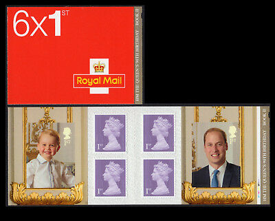 2016 QUEEN'S 90th BIRTHDAY - STAMP BOOKLET #2 CYLINDER PM51
