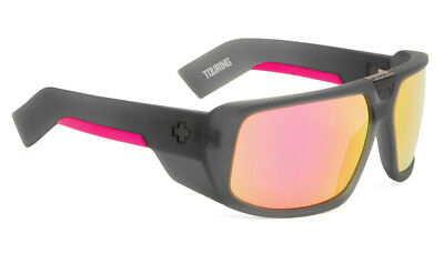 New Spy Touring Afterglow Cosmic Sunrise Sunglasses Grey/Pink Spectra Lens