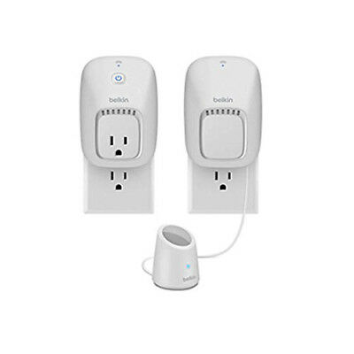 Belkin Wemo Home Automation Switch and Motion Sensor (White)