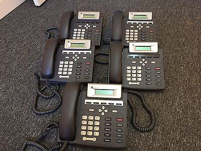 Lot of 5 Pre-owned Altigen IP705 PoE LCD Business Phones
