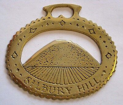 Vintage Horse Tack Harness Brass Bridle Ornament~Silbury Hill~England