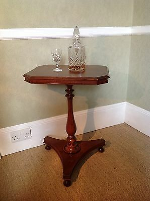 Antique George Iii (C 1800) Oak Tilt Top Table