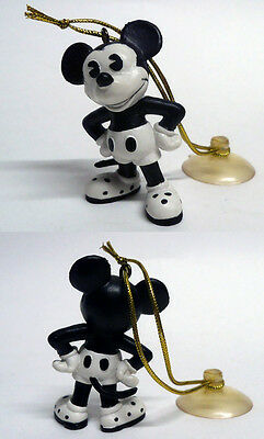 16529 Mickey Mouse Black And White Pvc Figurine Bully 1984 Germany