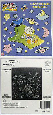 16596 Baby Disney Babies Glow In The Dark Stickers Mickey Mouse 90S 6-Inch