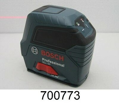 Bosch Professional GLL 50 50 ft. Self-Leveling Cross-Line Laser Level