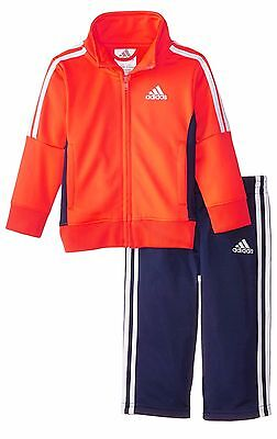 Adidas Orange 12 Month sports set baby boy jacket 1 track pants Presents Kids