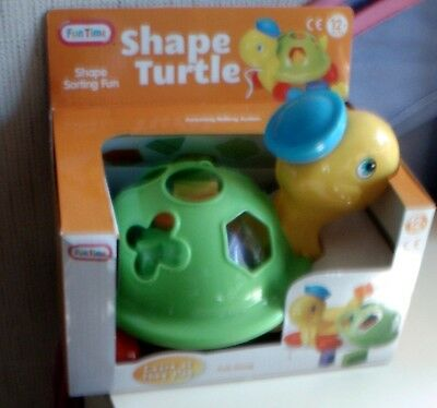 Shape Turtle - Shape Sorter Toy  Brand New And Boxed