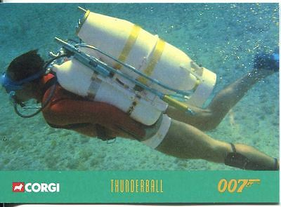 James Bond Corgi Cars Exclusive Trading Card #15 Thunderball