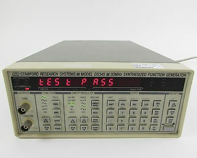Stanford Research DS345 Synthesized Function Generator + GPIB, DB35-RS232, OPT 2