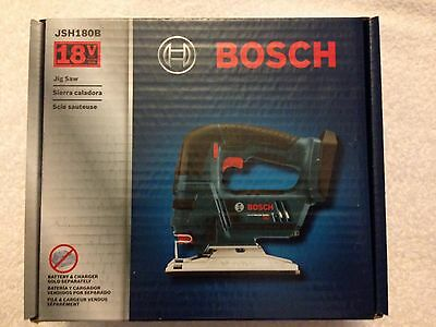 New Bosch JSH180B 18V 18 Volt Jig Saw With 3 Blades New in Box NIB Bare Tool