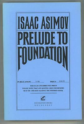 Prelude to Foundation by Isaac Asimov (Uncorrected Proof)- High Grade