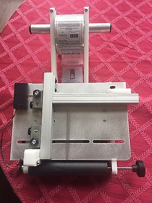 Zap Labeler ZL8 Label Applicator Machine for Round, Square & Oval Bottles, Boxes