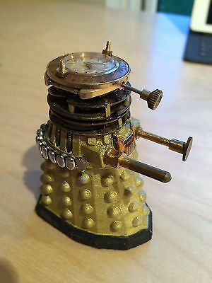 Dalek from Doctor Who - Made From 3D Printing and Watch Parts