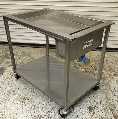 Donut Icing Table Belshaw HG-18-EZ-SS #6287 Commercial Hand Glaze Station NSF