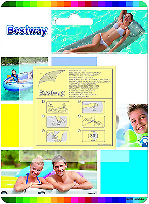 Bestway Inflatable Pool Repair Patch - 10 Patches - Hot Tub - Spa - Inflatable