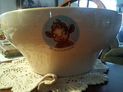 Vintage Original Large Bordon  Elsie The Cow Bowl