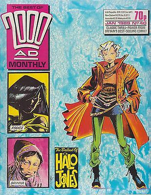 Best of 2000AD Monthly 40 - 1989 - Halo Jones by Alan Moore - Near Mint