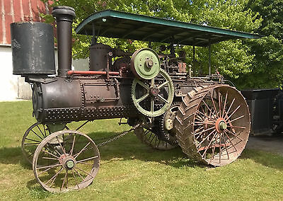 Nichols & Shepard 25 hp Double Cylinder Steam Tractor - No Reserve
