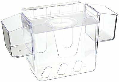 Baby Diaper Depot Plastic Clear, 3-In-1 Changing Station, Holds 16/18 Diapers