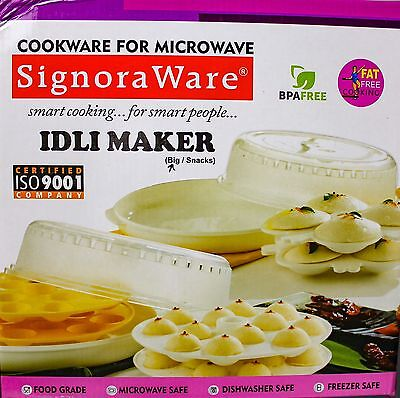 Idli Maker Microwave BPA Free High Quality Food Grade Cook Idlis Faster AU Stock