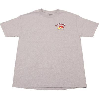 Clay Smith Cams Grey Mr. Horsepower T-Shirt, Large