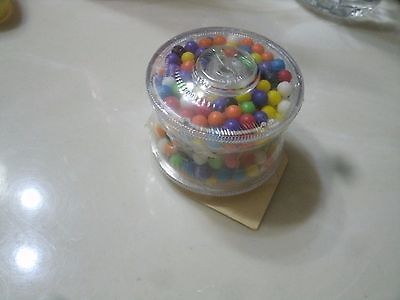 1#   Sealed  PLASTIC CANDY  CONTAINER  YOYO EXCELLENT CONDITION
