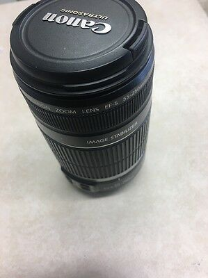 Canon Zoom Lens EF-S 55-250mm, 1:4-5.6 IS Image Stabilizer