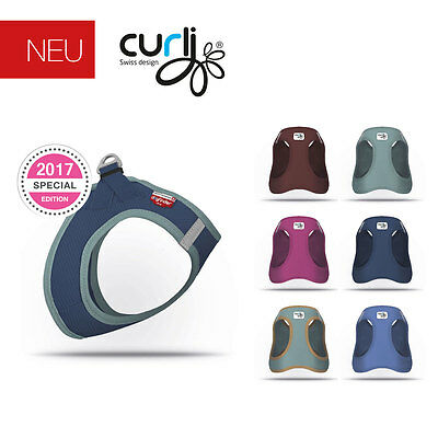 Curli Plush Air-Mesh Vest Harness for dogs Dog Soft Harness SE17 NEW
