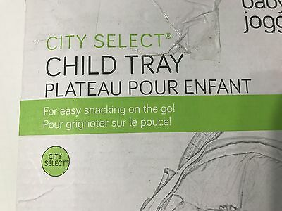 "Baby Jogger Child Tray for ""City Select"" Stroller - New, Free Shipping!!! NOB"