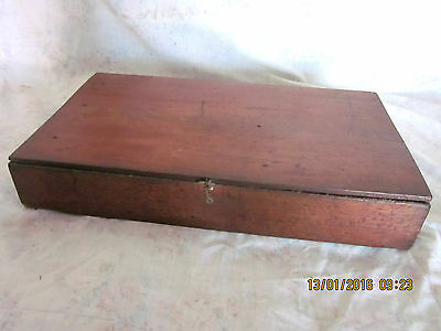 ~Vintage/antique Rustic Cedar Timber Box/case - Gc~