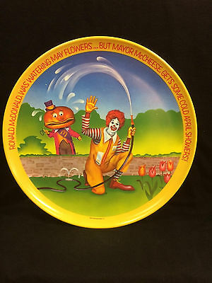 McDonalds Seasons plastic collector plates complete set of 4 1977 Lexington