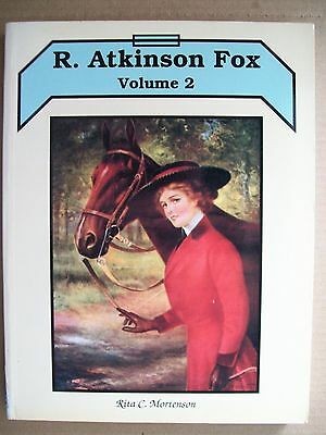 Vintage R. Atkinson Fox Art Prints Price Guide Collector's Book Vol. 2