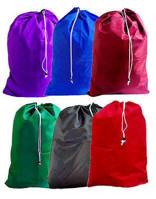 Small Heavy Duty Laundry Bag for Weekly Use, 22W x 28L, Choose from 16 Colors