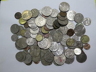 Australia New Zealand Cents Dollars Mix Date Type Old World Coin Collection Lot